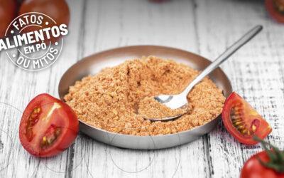 Mercado crescente para alimentos em pó naturais